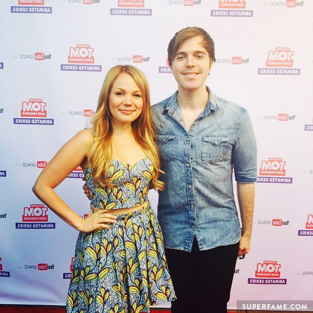 Shane Dawson with Lisa.