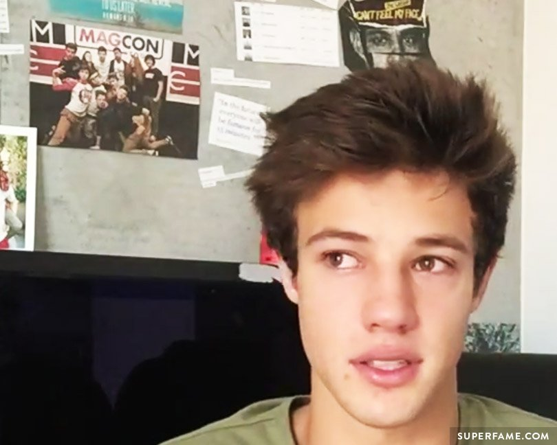 Cameron Dallas from Magcon.