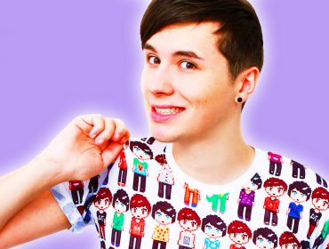 Dan Howell is embarrassed.
