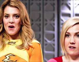 Grace Helbig and Hannah Hart.