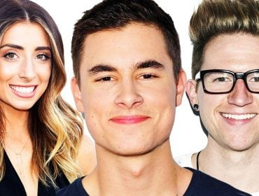 Kian Lawley, Lauren Elizabeth and Ricky Dillon.