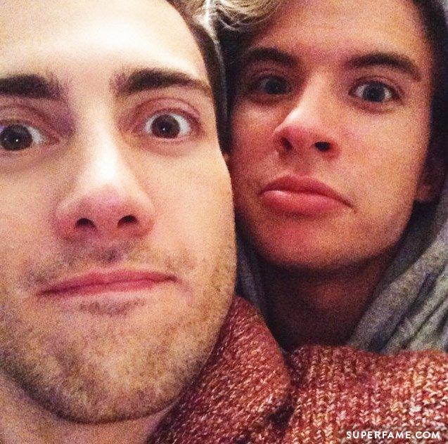 Aaron and Travis.