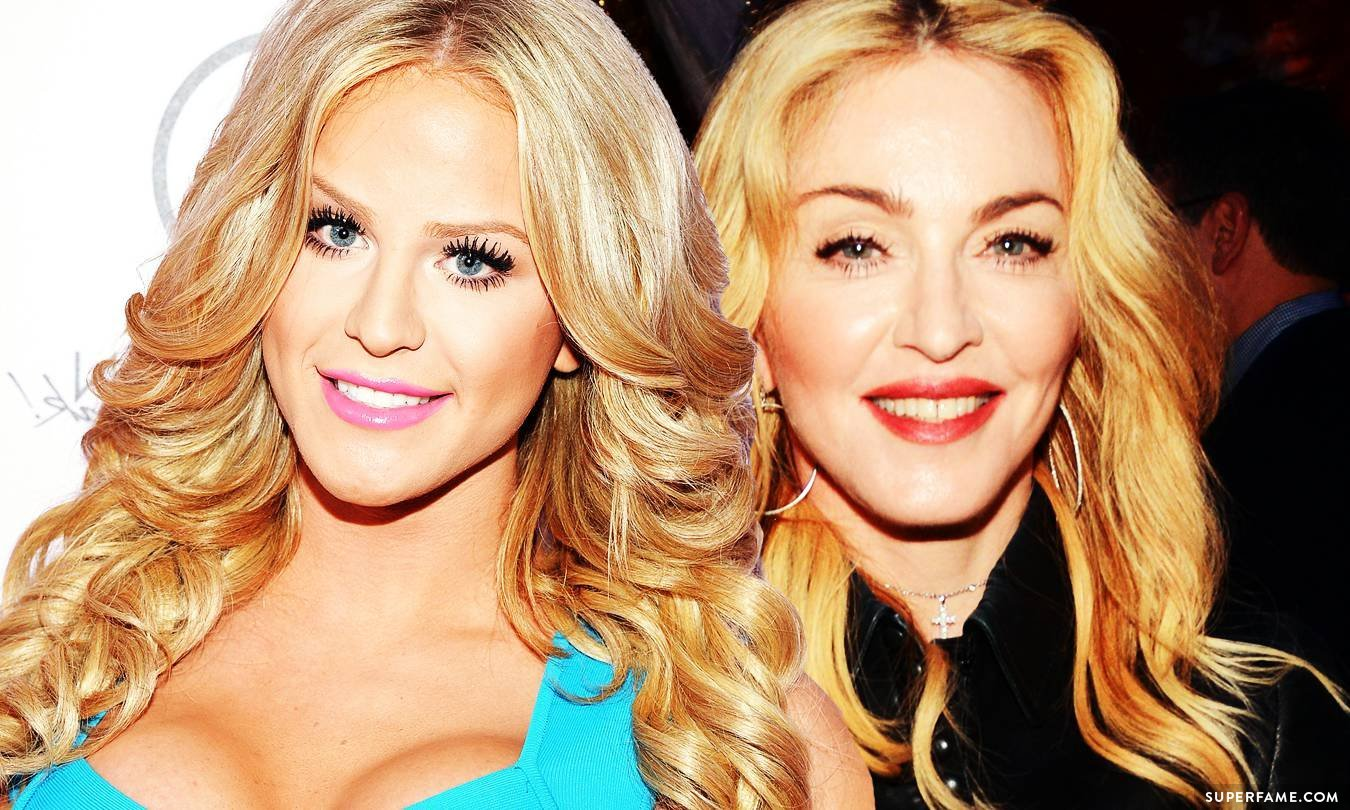 Gigi Gorgeous and Madonna.