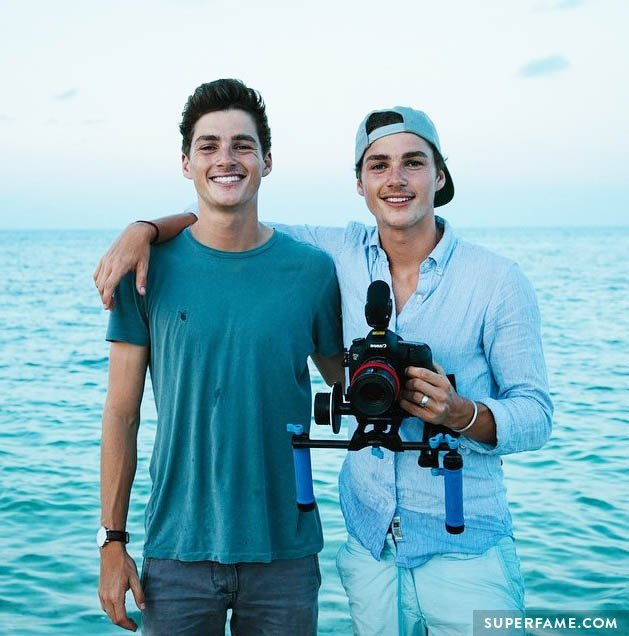 Jack Harries and Finn Harries. (Photo: Instagram)