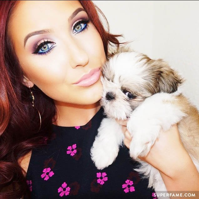 Jaclyn Hill's dog.