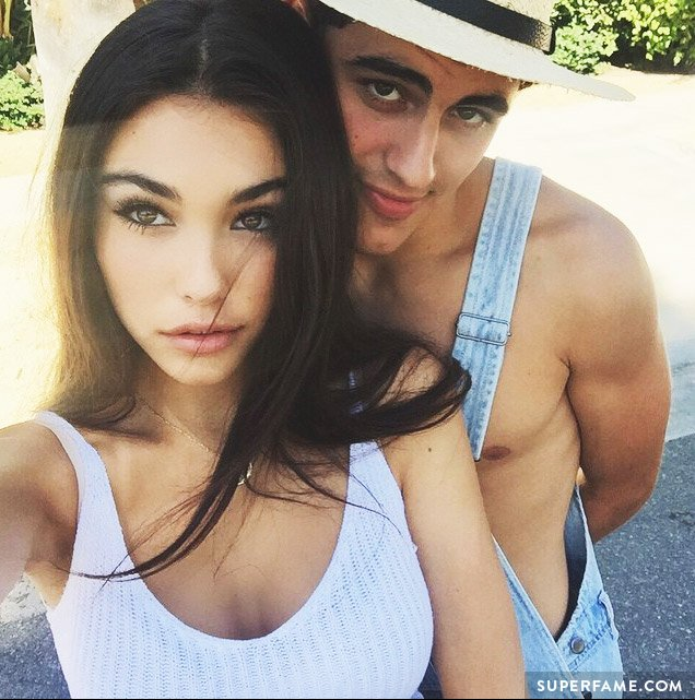 Madison Beer with boyfriend Jack Gilinsky.