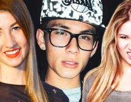 Meg DeAngelis, Meghan Rienks and Carter Reynolds.