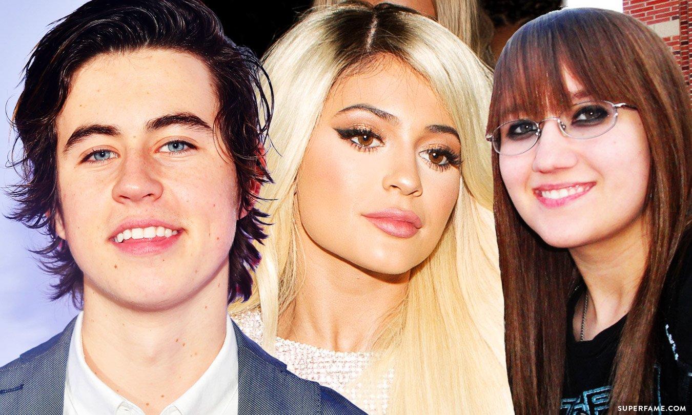 Nash Grier, Kylie Jenner and Stalker Sarah.