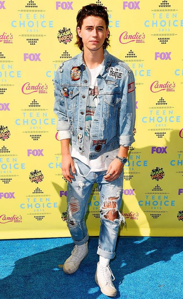 Nash Grier at the TCA's.