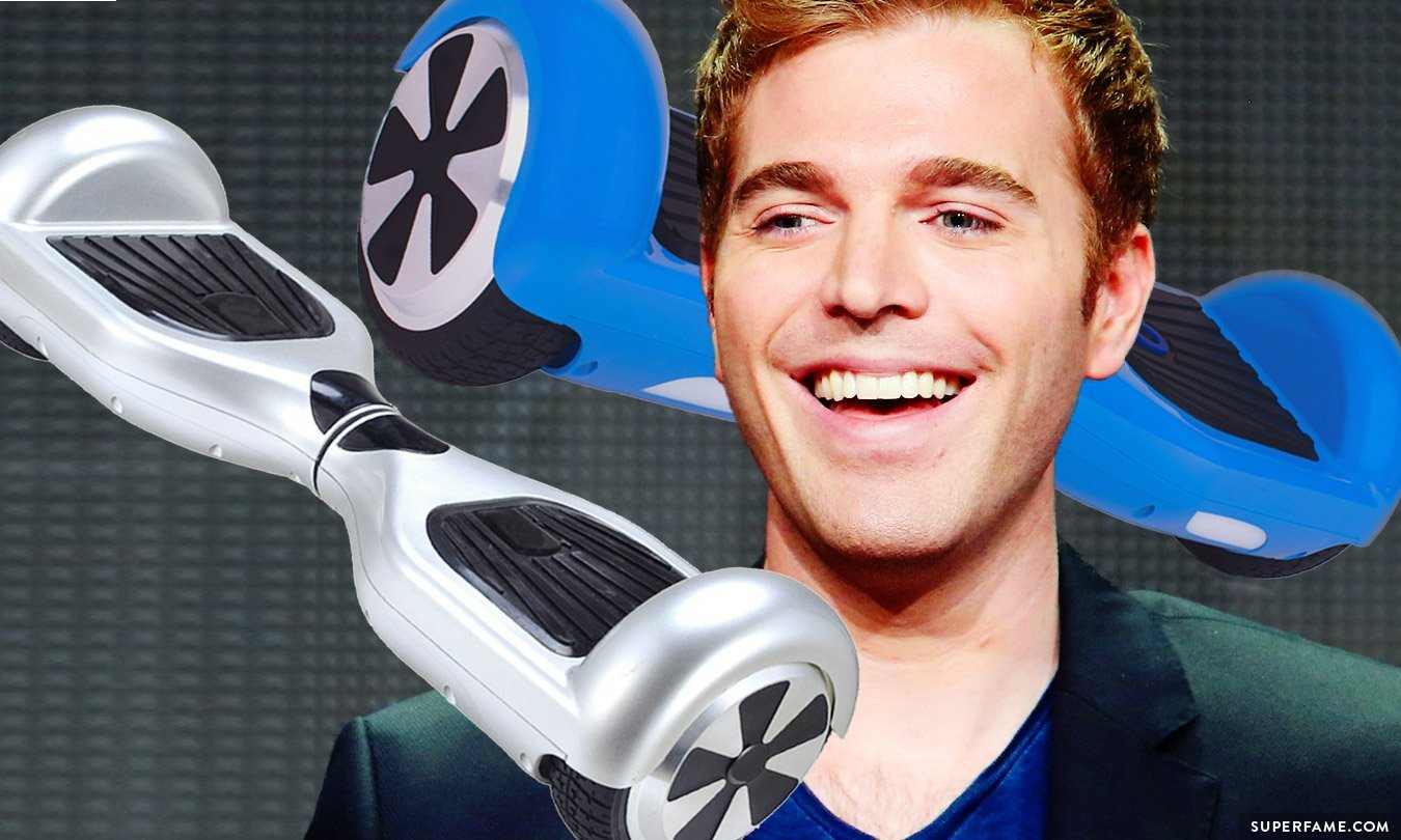 """Shane Dawson: Fans React To Every YouTuber & Viner Getting A """"Hoverboard"""