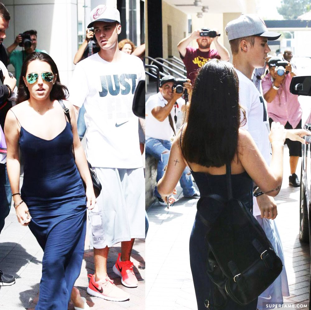 Yasmin Senna spotted with Justin Bieber.