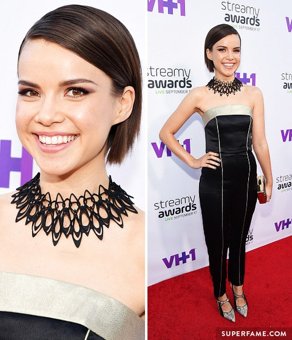 Ingrid Nilsen on the red carpet.
