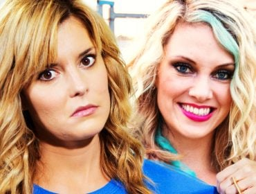 Grace Helbig with Nicole Arbour.
