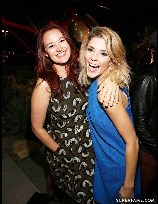 Grace Helbig and Mamrie Hart.