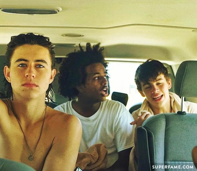 Nash, Hayes, and Tez.