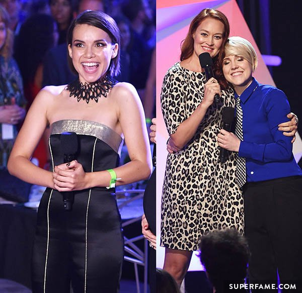 Ingrid and Hannah were at the Streamy Awards.
