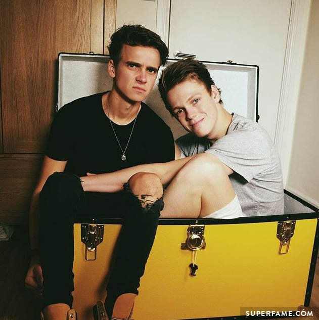 Caspar Lee and Joe Sugg.