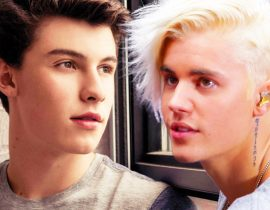 Justin Bieber and Shawn Mendes.