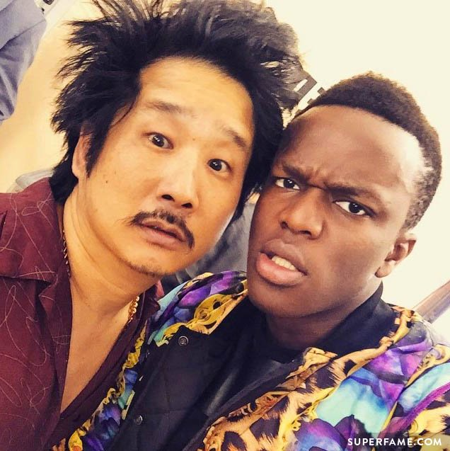 KSI and Bobby Lee.