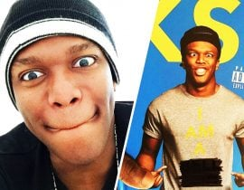 KSI from YouTube.