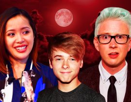 Michelle Phan, Tyler Oakley and Luke Korns.