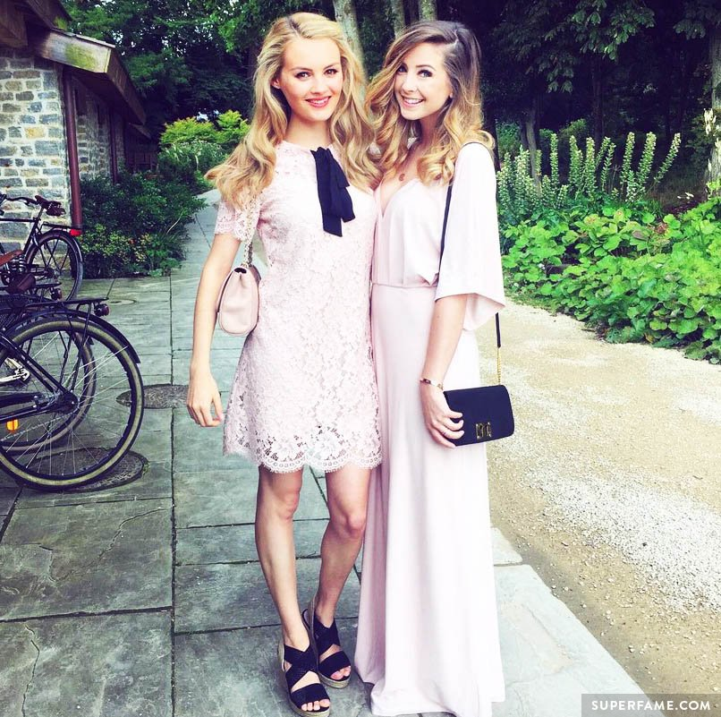 Niomi Smart and Zoe Sugg matched unintentionally.