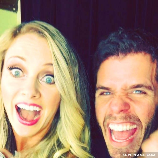 Nicole Arbour with friend Perez Hilton.