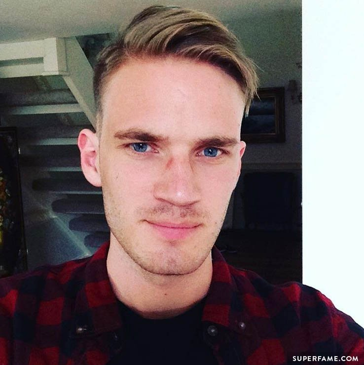 Pewdiepie's new hair.