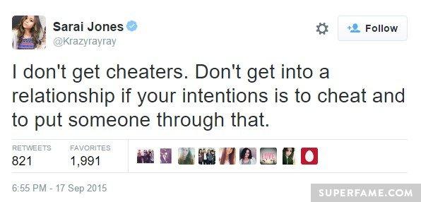 sarai-cheaters