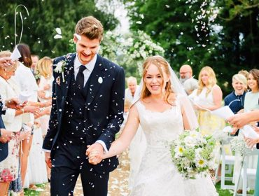Tanya Burr and Jim Chapman's wedding.