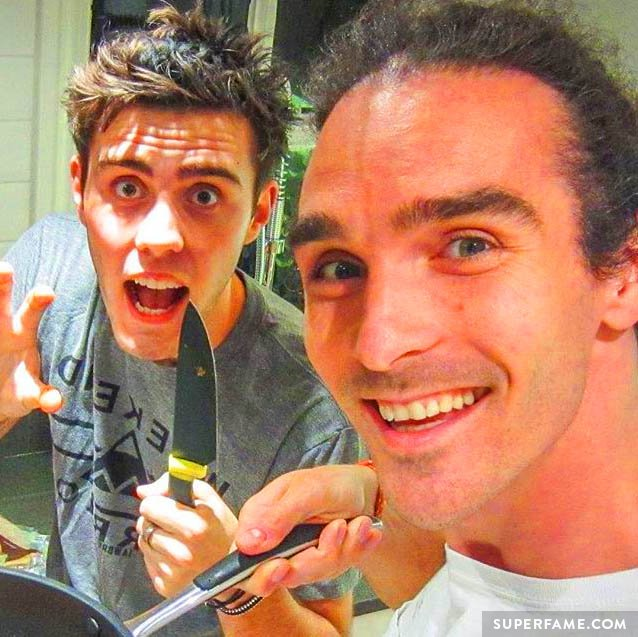 Alfie briefly went vegan with Louis.