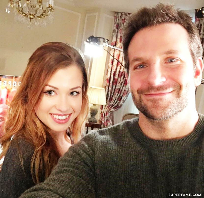 Bradley Cooper with fangirl.