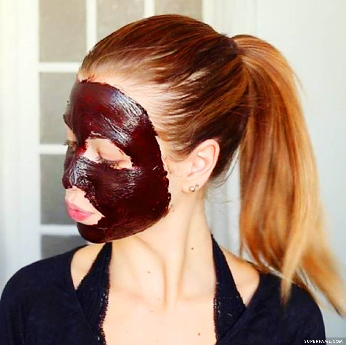 Chocolate Face Mask!