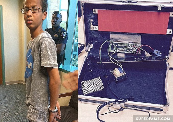 Ahmed Mohamed. Clock boy!