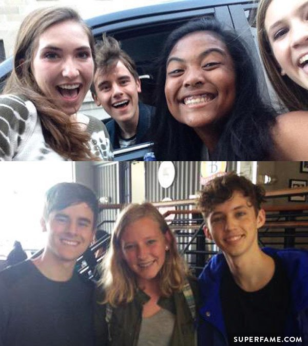 Connor and Troye.