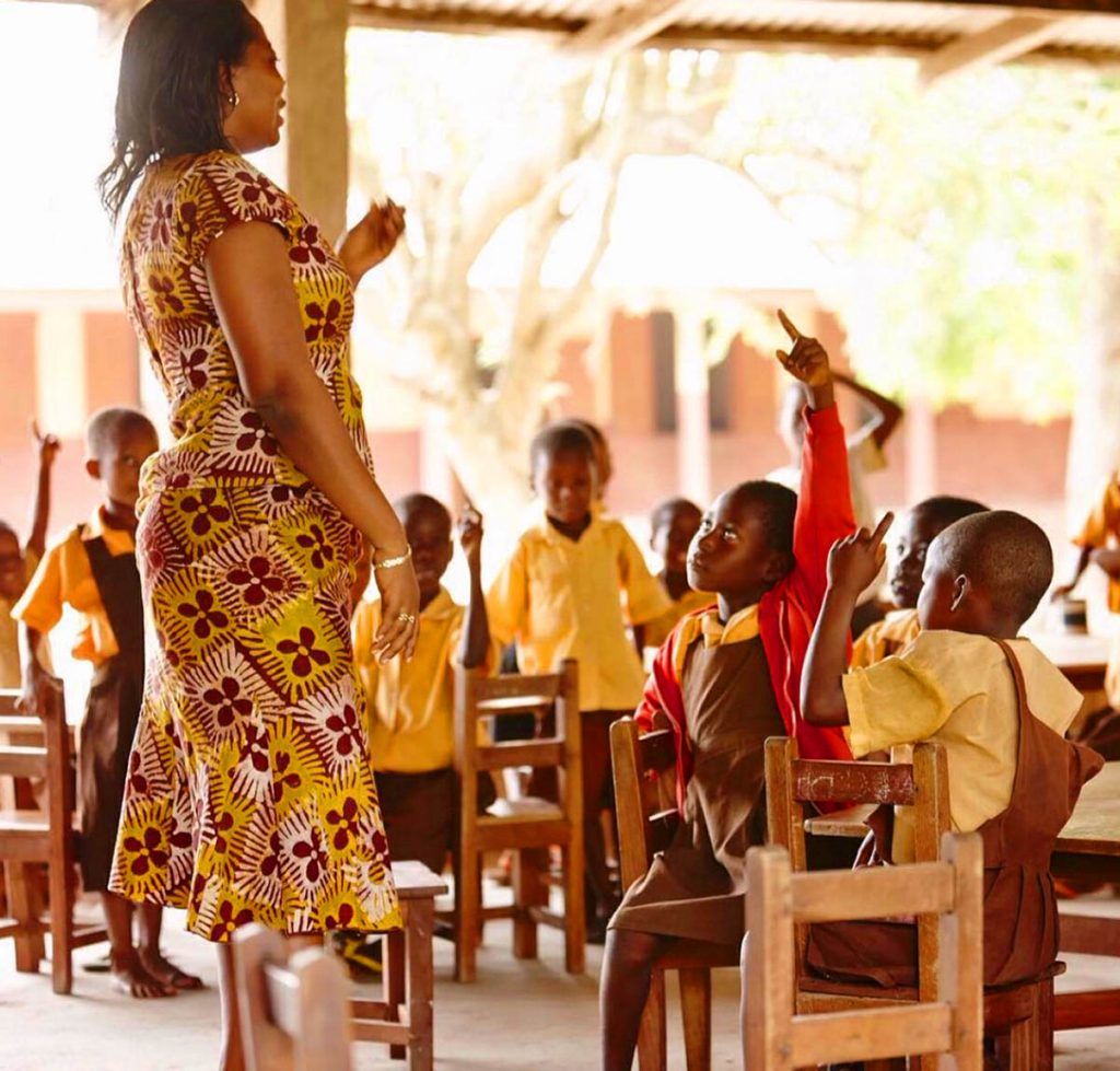 Ghana school.