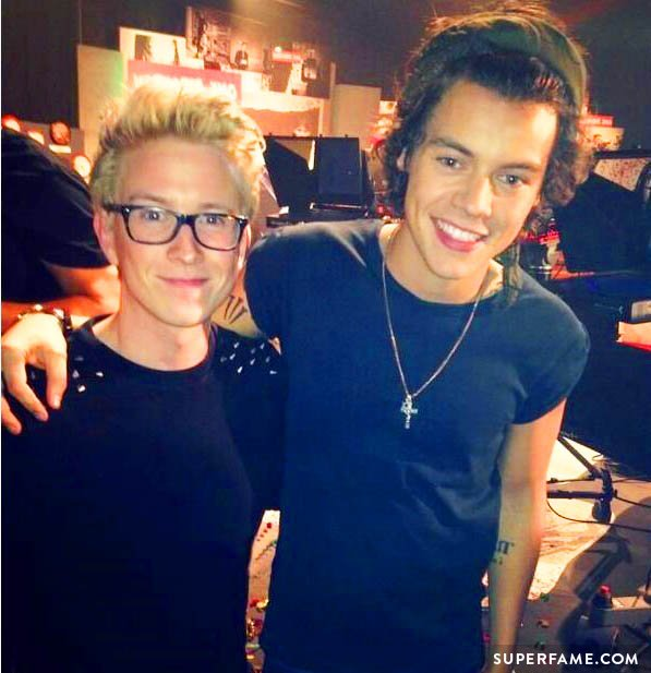 Harry Styles and Tyler Oakley.
