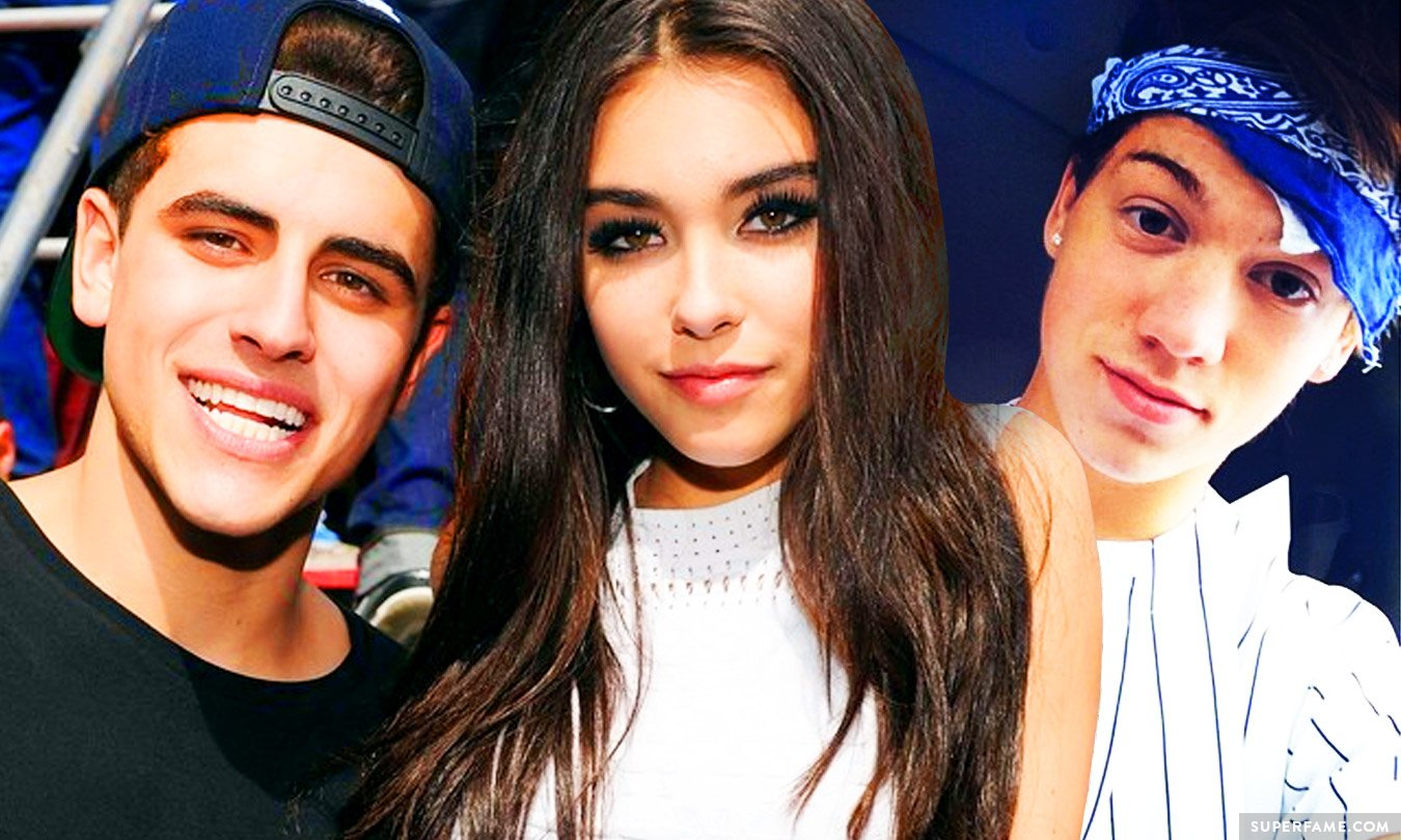 Jack Gilinsky, Taylor Caniff and Madison Beer