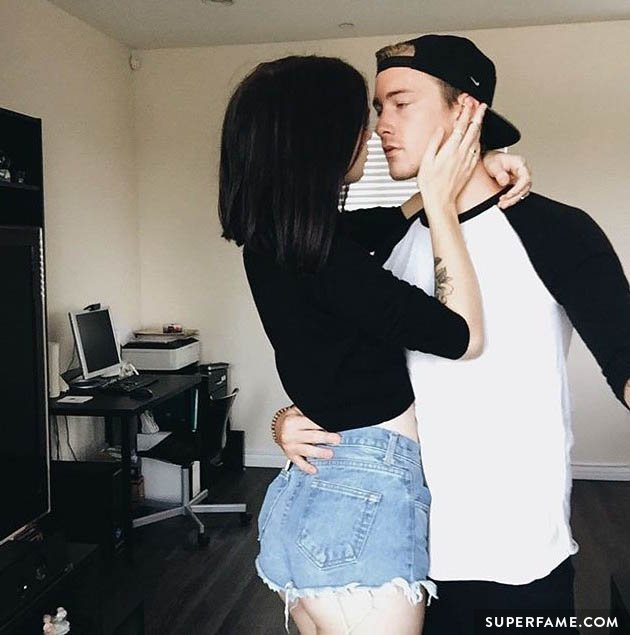 Jairus and Acacia pose on Instagram.