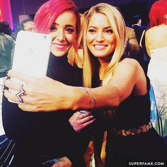 Jenna Marbles and iJustine.
