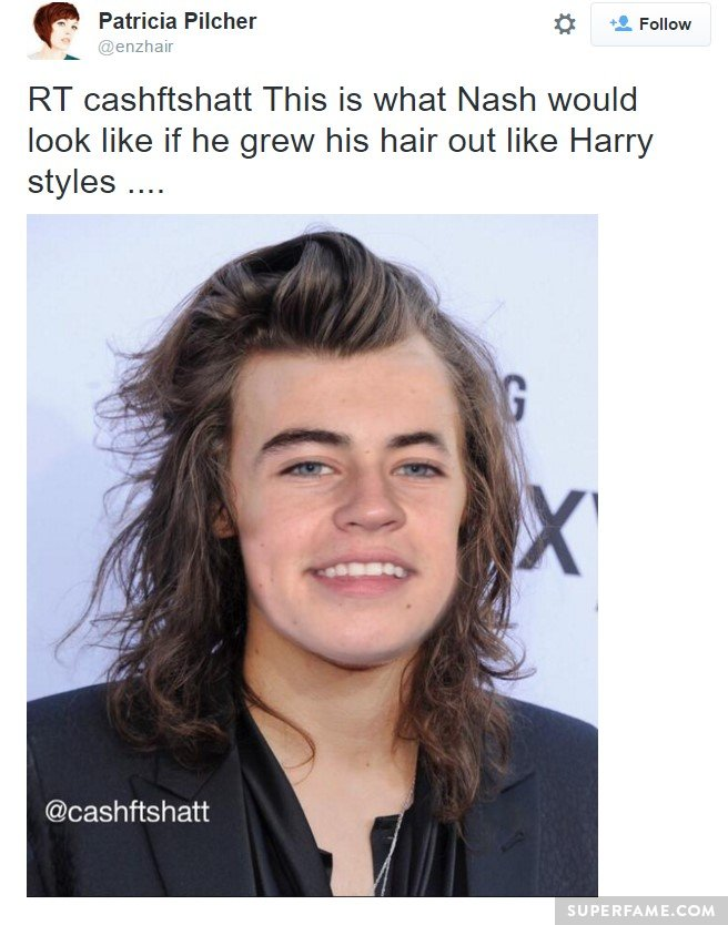 Is Nash Grier Secretly Turning Into Harry Styles Superfame