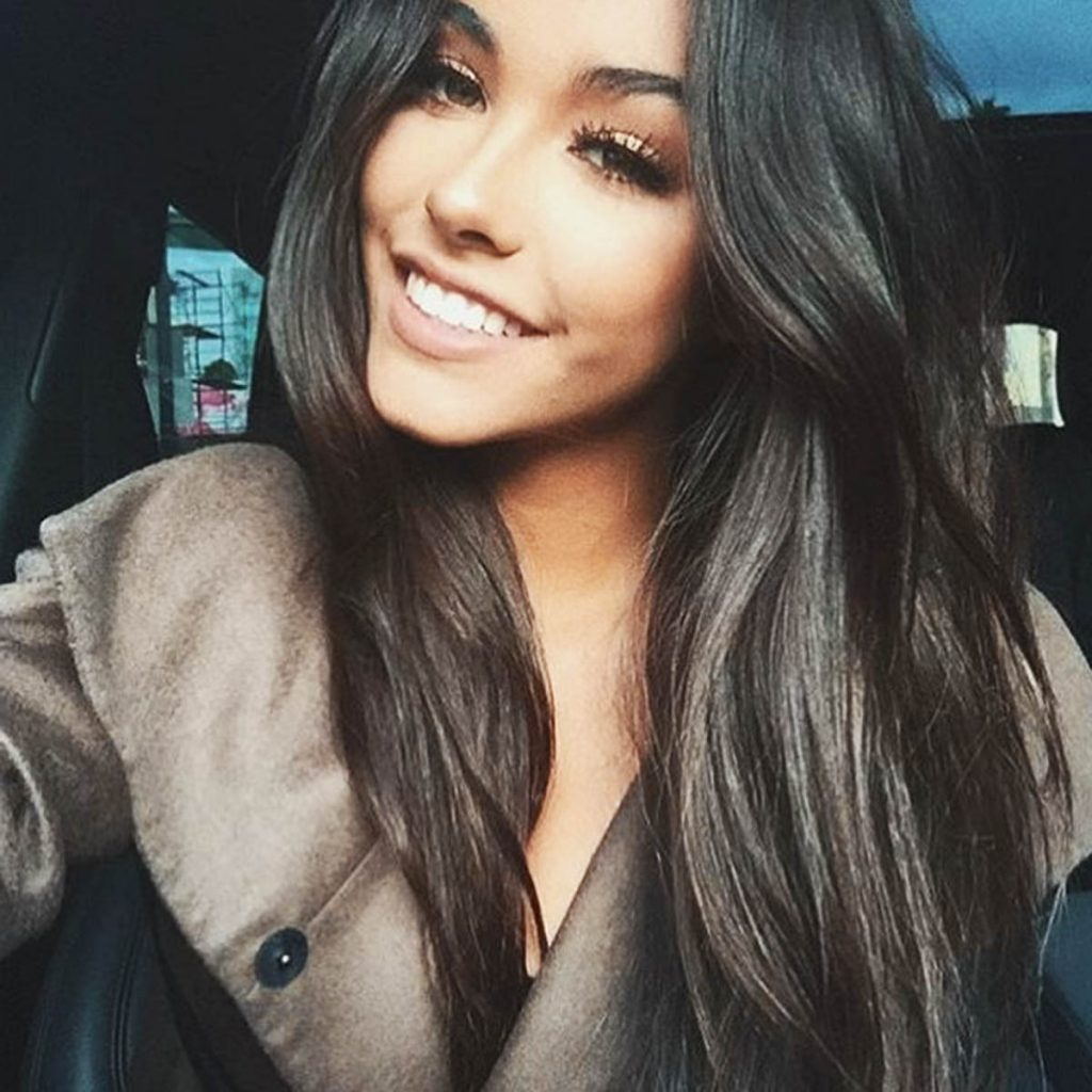 Madison Beer smiling.