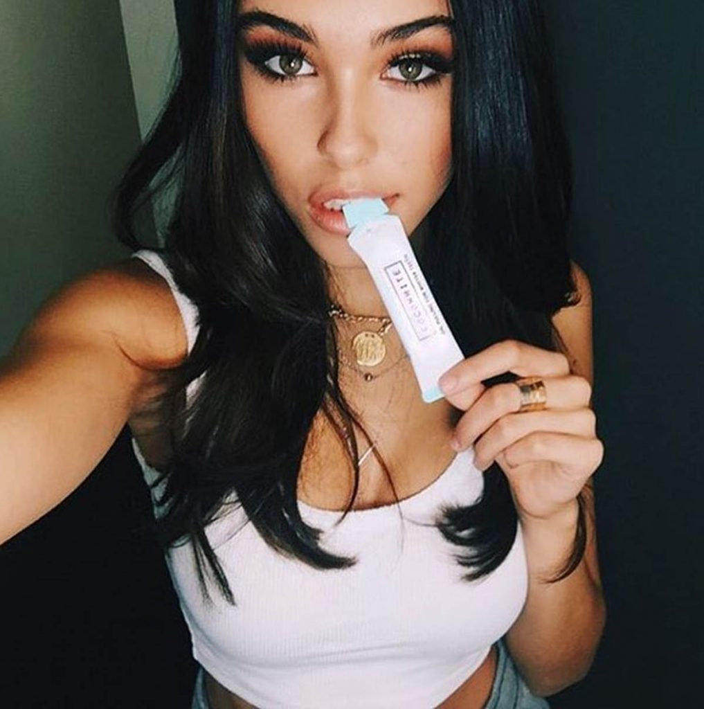 Madison Beer's ads.