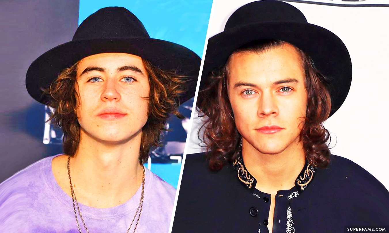 Is nash grier secretly turning into harry styles superfame fans are comparing nash and harry photo instagram winobraniefo Image collections