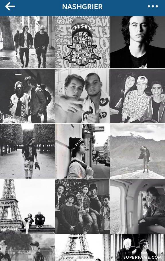 Nash Grier's Instagram.