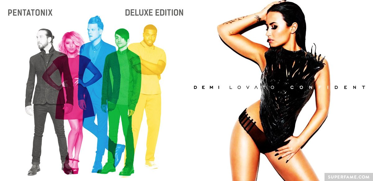 Pentatonix and Demi's album.