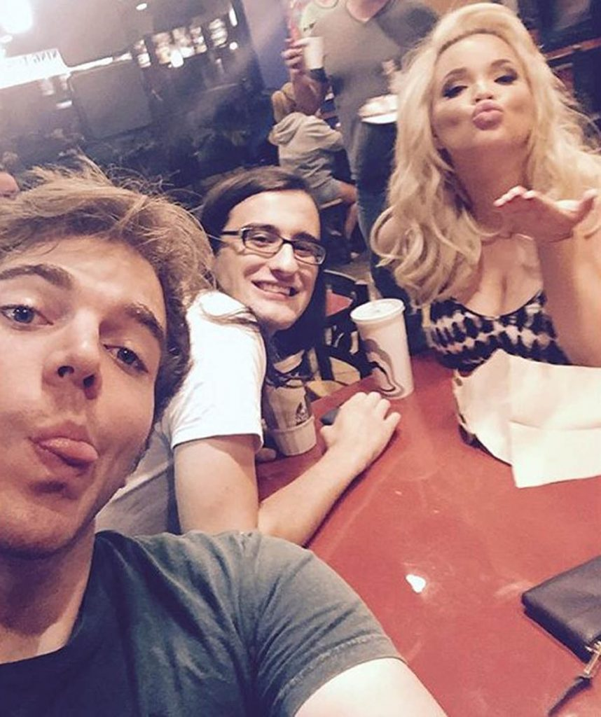 Shane, Trisha and Drew.
