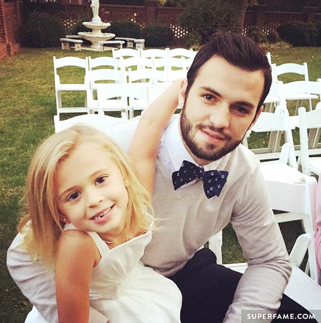Skylynn with Will Grier.