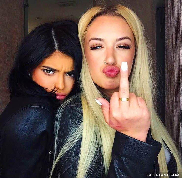 Kylie Jenner's friend Stassie.