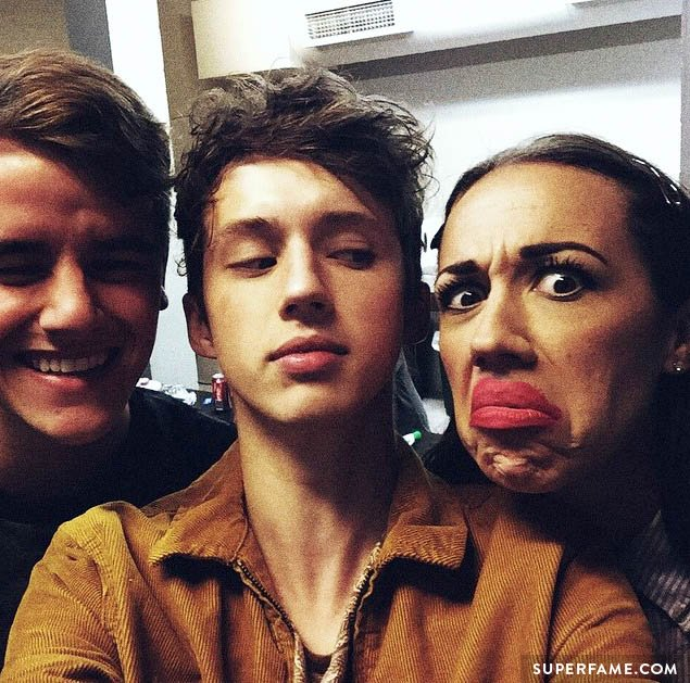 Connor, Troye and Miranda.